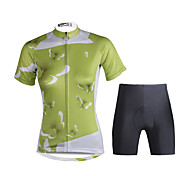 PaladinSport Women  Cycyling Jersey + Shorts Suit DT683 Blue Butterfly Kiss
