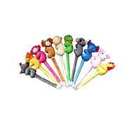 Игрушки Животные Милый Необычные игрушки Для мальчиков Для девочек Текстиль Пластик