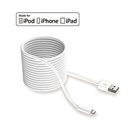 hxinh IMF rayo certificado al cargador usb 2.0& sincronizar cable de 3 metros, para iPhone5 6 6s plus, Mini iPad de aire profesional,