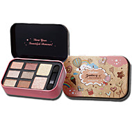 8 Blush Dry Powder Eyes / FaceBrown / Red / Pink / White / Auburn / Beige / Natural / Orange / Coffee
