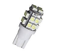 10 piezas de xenón blanco t10 cuña 20-SMD LED luz W5W bombillas 2825 158 192 168 194 12v