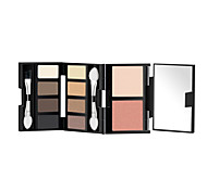 Mistine Folding Ten High Light Eyeshadow Blush Eyebrow Makeup Kit