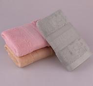 Plain Coloured Bamboo Fiber Towels Small Squares