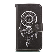 Wind Chimes Leather Wallet for Samsung Galaxy Core Prime Grand Prime