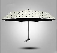 il nuovo ombrello di sole pieghevole ombrelloni UV ombrello vinile femminile Corea del super-protezione solare