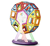 Toys Magnet Toys 68Pcs Executive Toys Puzzle Cube DIY Toys Magnetic Balls Rainbow Education Toys For Gift