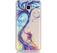 Love Tree TPU Material Glow in the Dark Soft Phone Case for Samsung Galaxy J110/J310/J510/J710/G360/G530/I9060