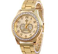 Ladies'/Women's Acero De Aleacin la Moda Reloj De Cuarzo Corona Del Reloj