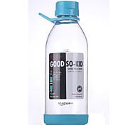 HAOQIXIAOZI PP Water Bottle Blue / White