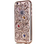 Hollow Embossed Translucent Phone Case for iPhone 6 6S 6 Plus 6S Plus