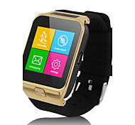 Men's Women's Smart Watch Touch Screen Remote Control Calendar Alarm Pedometer Fitness Trackers Stopwatch Digital Rubber Band Cool Black