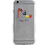 Per Custodia iPhone 6 / Custodia iPhone 6 Plus Resistente agli urti Custodia Custodia posteriore Custodia Con logo Apple Morbido TPU Apple
