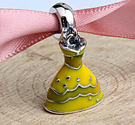 Women's Yellow Sterling Silver Pendant 1PC