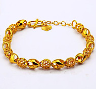 24K Gold Color Exquisite Gold Plated Bracelet