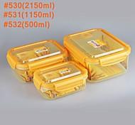 yooyee éxito de ventas de la marca a prueba de fugas de aire kithen utensilios de ventilación recipiente para microondas