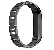 Newest Hollow Out Chained Stainless Steel Replace Spire Lamella  Men And Women Fashion Watchband For Fitbit Alta
