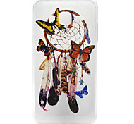 High Quality TPU Butterfly Campanula Pattern Soft Phone Case for Samsung Galaxy J3