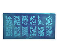 1pcs Nail Art Stamping Plate Colorful Image Design DIY Image painting Nail Tool UB26-30