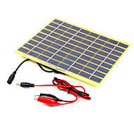 5W 18V Portable Monocrystalline Solar Panel Car Automobile Rechargeable Power Battery Charger (SWB5018C)