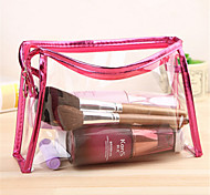 Transparent Cosmetic Wash Finishing Waterproof Cosmetics Bag Lady Travel Jewelry Large Capacity Storage Bag