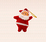 6шт мини-Санта-Клауса кулон украшения рождественской елки зима елка висячие украшения