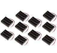10pcs 18650 boîte de la batterie section de support de batterie 3 11.1v trois séries panneau de protection de la cartouche de la batterie