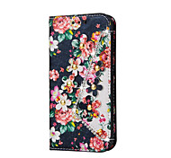 Flower Pattern With Rhinestone Decoration Case For Samsung Galaxy A3(2016) A5(2016) A7(2016) A3 A5 A7 A8 A9