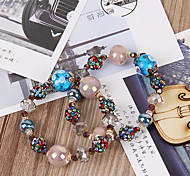 Strand Bracelets Colorful Alloy Fashionable Daily / Casual Jewelry Gift