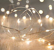 1PC LED  BatteryHome Christmas Outdoors Decorate 10M 100Dip Copper Wire String Lights