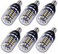 YouOKLight 6PCS High Luminous E27 E14 E12 40*5736 SMD LED Corn Bulb 3W Spotlight LED Lamp Candle Light For home Lighting