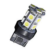 4x Xenon White T20 7443 5050 13-SMD - Tail Brake Stop Parking Light Bulb 7444NA