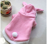 Hunde Kostüme / Kleidung / Kleidung Rot / Rosa Winter einfarbig Cosplay, Dog Clothes / Dog Clothing-Other