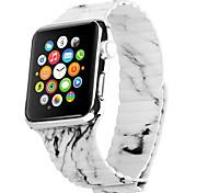 Grigio Pelle Cinturino di pelle Per Apple Orologio 38 millimetri / 42 millimetri