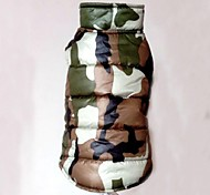 Classic Keep Warm Camouflage Pet Coat