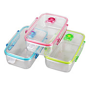 YOOYEE  Brand PC Airtight Vacuum Clear Plastic Storage Boxes With LockingLids