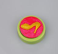 Туфли на высоком каблуке дизайн горячие продажи силиконовые помадные формы инструменты торт украшения цвет случайный