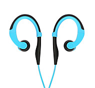 Pisen Headphone Ear Hook Headset Wired Portable Mobile phone Earphone Waterproof Sport Headset With Mic For Android