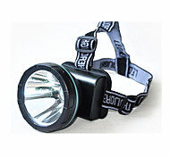 Lights Headlamps LED 240 Lumens 1 Mode LED Lithium Battery Rechargeable Camping/Hiking/Caving / Everyday Use / Hunting Plastic