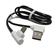 Type-C Cable Music AS 1S Charging Wire Bidirectional 90-Degree Elbow Mobile Power Adapter Cable