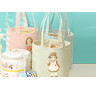 Canvas Bag Waterproof Portable Lunch Bags Thicker Insulation Package Ice Pack Picnic