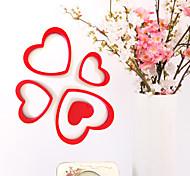 Рождество / Романтика / фантазия Наклейки 3D наклейки Декоративные наклейки на стены / Наклейки на холодильник / Свадебные наклейки,pvc