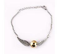 Golden Snitch Wings Shape Bracelet