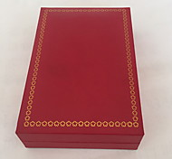 Jewelry Boxes Paper 1pc Red