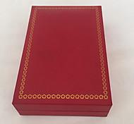 Schmuckbehälter Papier 1 Stück Rot