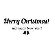 Christmas Stickers/ Decals Christmas Words & Quotes Stickers For Home Decor
