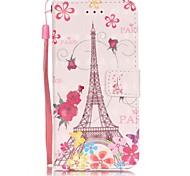 Tuta A portafoglio / A fantasia Torre Eiffel Similpelle Difficile Copertura di caso per AppleiPhone 7 Plus / iPhone 7 / iPhone 6s Plus/6