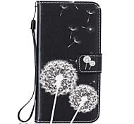 Dandelion PU Leather Wallet for Huawei P8Lite P9 P9Lite