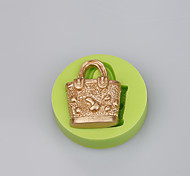 New style design hand bag shape cake silicone mold for pastry butter fondant cake chocolate