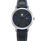 AIBI® Men's Fashion Watch Water Resistant/Water Proof Black Blue Simple Design Wrist Watch For Men Cool Watch Unique Watch With Watch Box