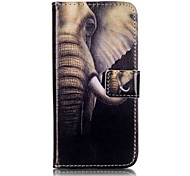 Para Funda iPhone 7 / Funda iPhone 7 Plus Cartera / Flip Funda Cuerpo Entero Funda Elefante Dura Cuero Sintético AppleiPhone 7 Plus /